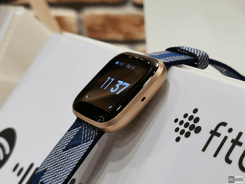 Fitbit Versa 2 also received improved always-on display mode
