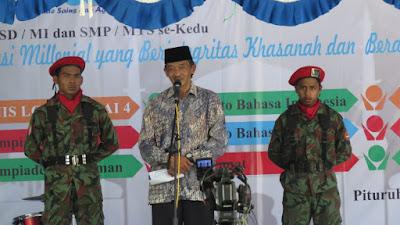 Wujudkan Generasi Millenial yang Berintegritas Hasanah dan Berakhlaqul Karimah, MBS Purworejo gelar Olimpiade Sains dan Agama Islam se-kedu