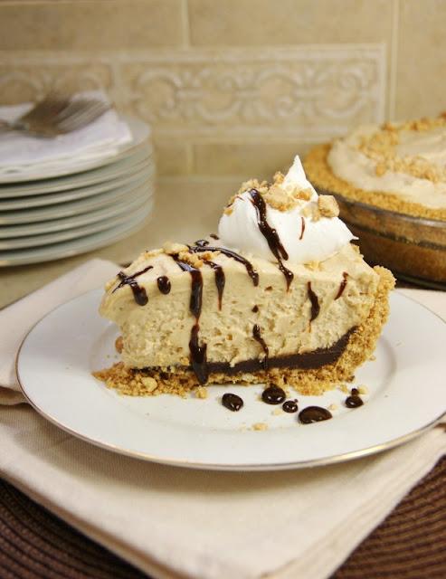 Black Bottom Peanut Butter Icebox Pie