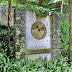 the wall clock at Monte Palace Tropical Garden