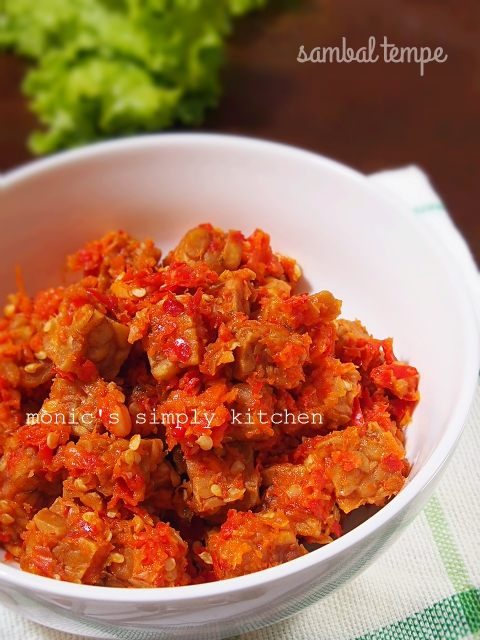 resep sambal tempe simpel