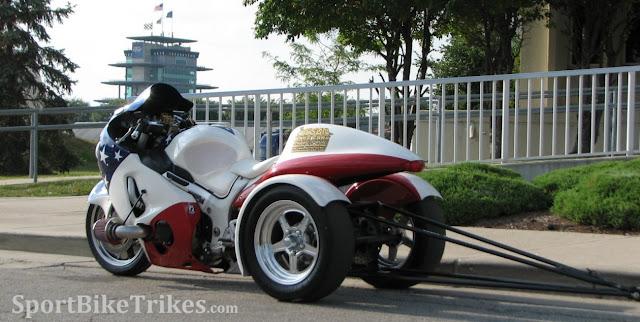 Indianapolis Motor Speedway Drag Trikes Motorcycle