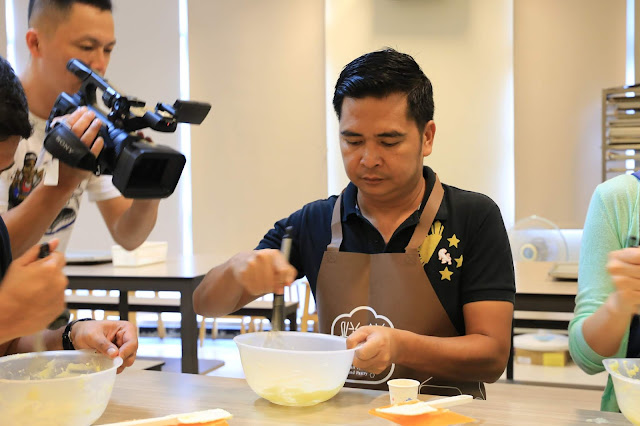Pineapple Shortcake Workshop in Taiwan