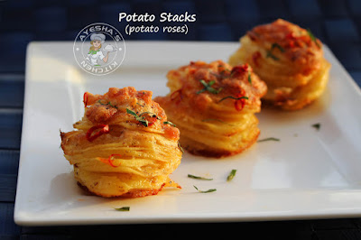 ayeshas kitchen potato snacks potato stacks recipes cheesy snacks spicy snack kids snacks