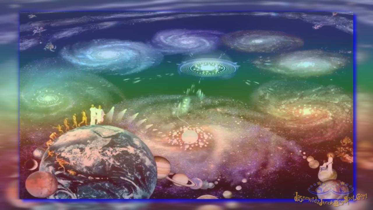 Bóg i Natura Reinkarnacja Ewolucja — Duch Materia — Wszechświat