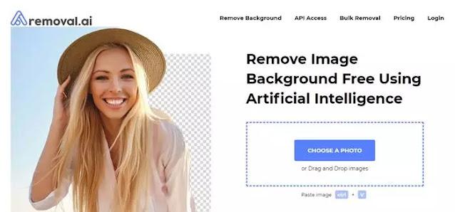 مواقع لإزالة الخلفية من الصور