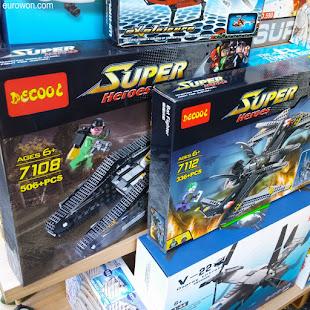 Cajas de Decool que imitan a Lego