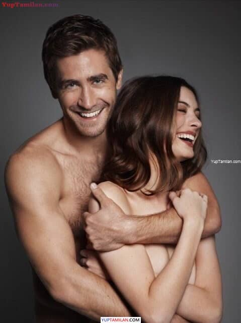 Anne Hathaway Sexy Topless Photoshoot with Jake Gyllenhaal