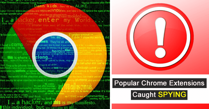 Hundreds of Malicious Chrome Browser Extensions With Used for Stealing User Sensitive Data – 32 Million Users Affected