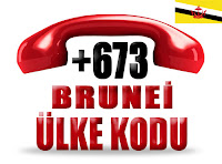 +673 Brunei ülke telefon kodu