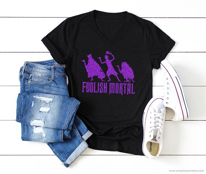 Foolish Mortal Shirt with Free Cut File