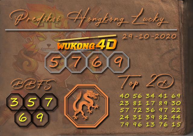 PREDIKSI TOGEL HONGKONG LUCKY 7 WUKONG4D 29 OKTOBER 2020
