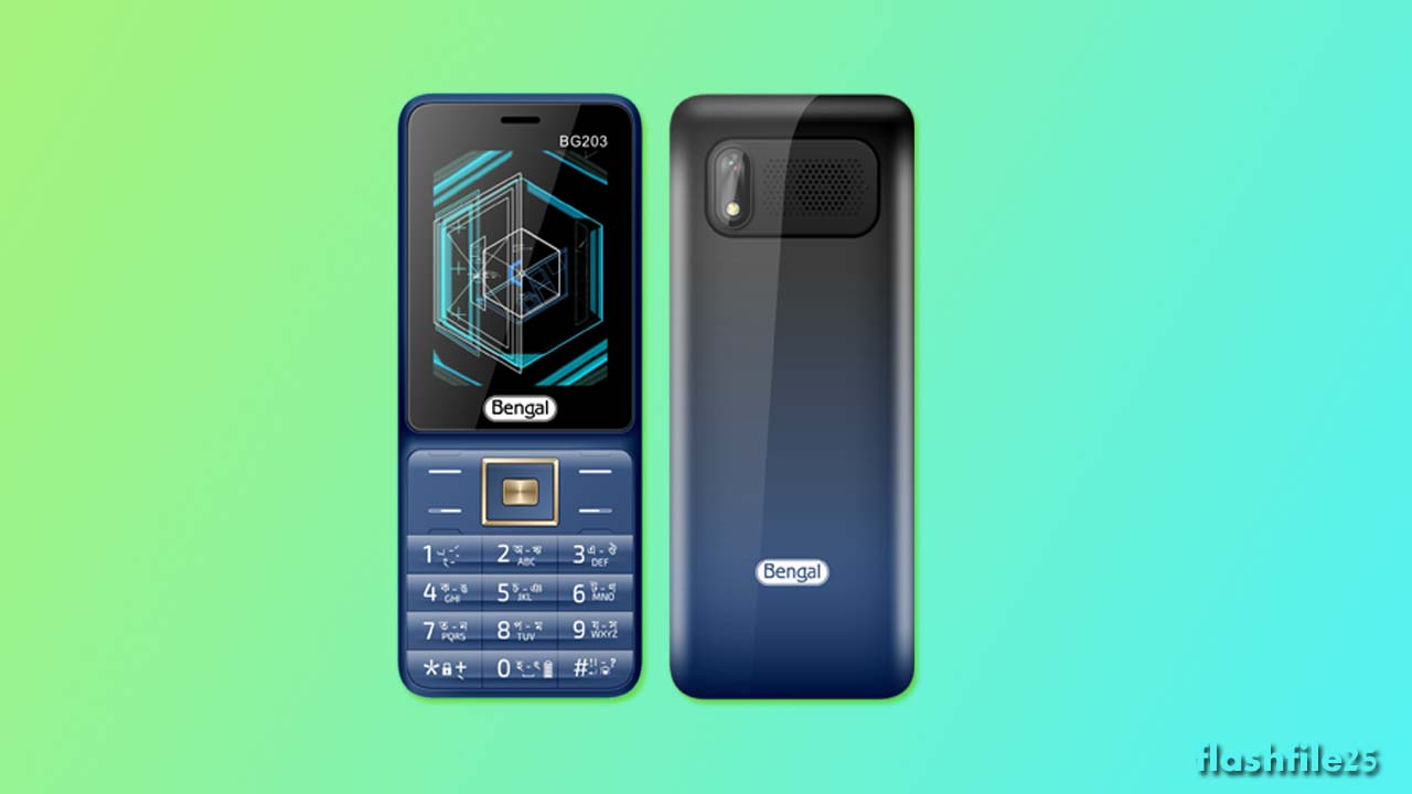Bengal BG203 Flash File (Official Stock Firmware). You can easily download after install the flash file on your mobile phone