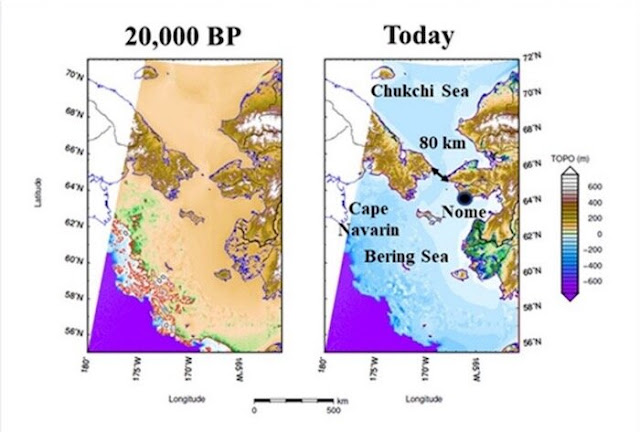 Study suggests remnants of human migration paths exist underwater at 'choke points'
