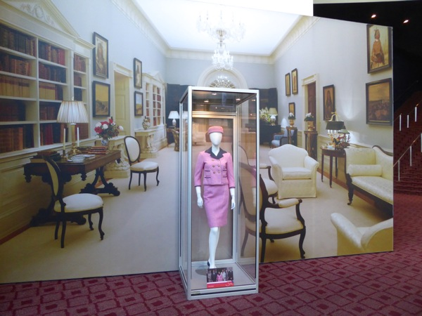 Natalie Portman Jackie movie costume exhibit
