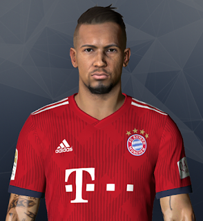 PES 2017 Faces Jérôme Boateng by Ben Hossam FaceMaker
