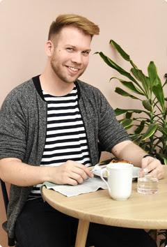 Food Blogger Björn Valentin
