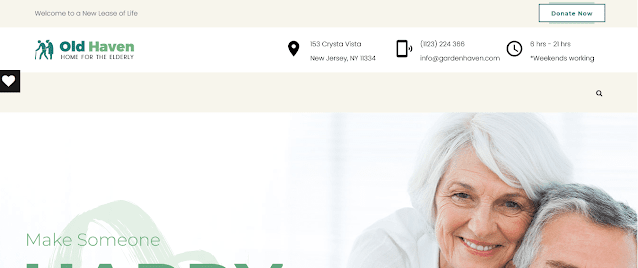 Nonprofit Fundraising & Charity WordPress Themes With Donation System    Old Haven