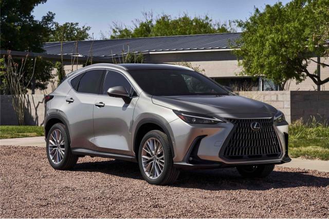 2022 Lexus NX Preview
