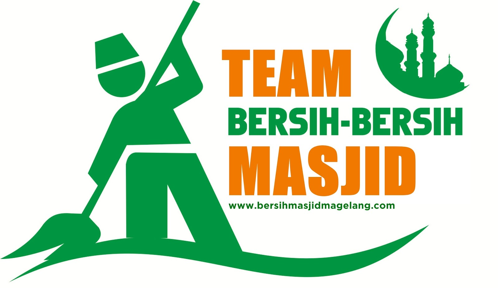 Bersih-bersih Masjid Magelang