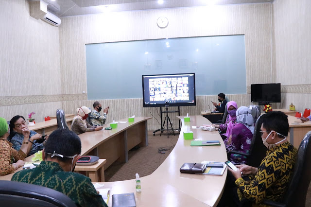Pemprov Lampung Rapat Dengan Kemendagri Bahas Pembentukan Satgas Monitoring Ketahanan Pangan Daerah