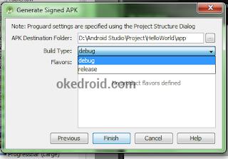 debug,release ,Belajar Cara Membuat dan Mendaftarkan file Apk di Android Studio