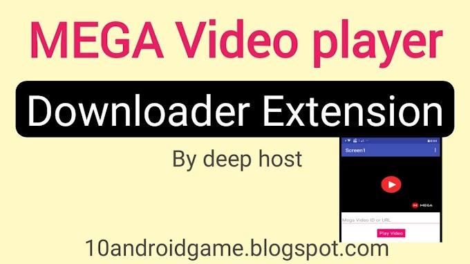 MEGA video player Extension for app inventor, Kodular, Appybuilder