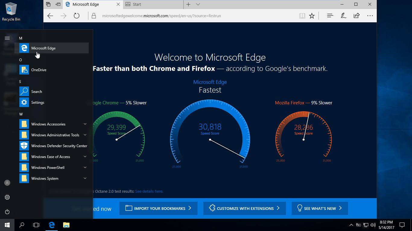 Hướng dẫn gỡ bỏ trình duyệt Microsoft Edge trong Windows 10
