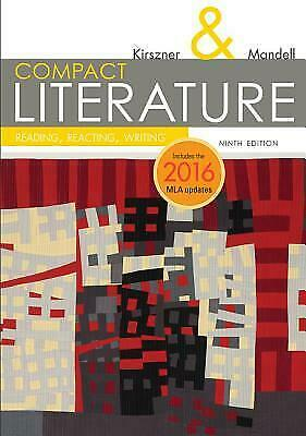 Compact Literature Reading, Reacting, Writing 9th Edition