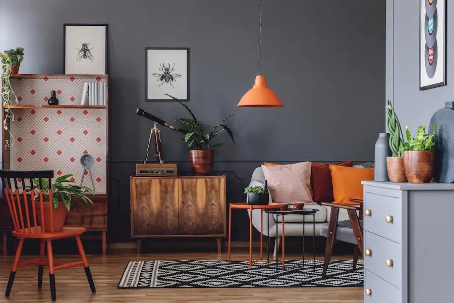 Decorar con muebles viejos