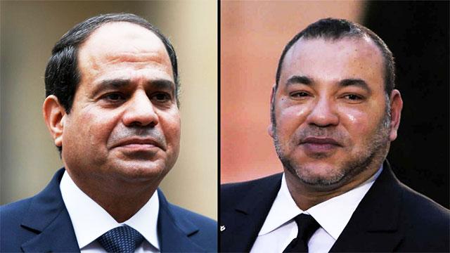 هذا ما قاله الملك محمد السادس  للرئيس المصري عبد الفتاح السيسي