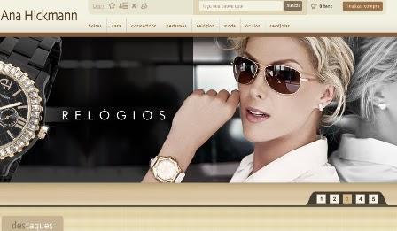 f50feb5d83324 Adorei saber da novidade  a Ana Hickmann lançou um site com loja virtual de  seus produtos. Ana Hickmann é um dos nomes com o maior número de  licienciamentos ...