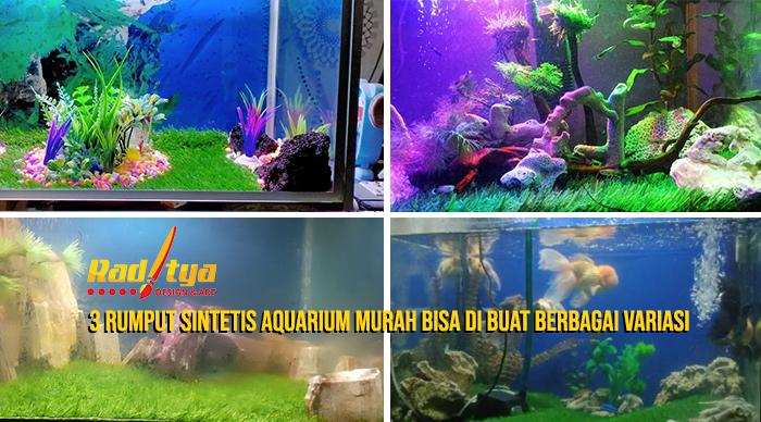 rumput sintetis aquarium murah