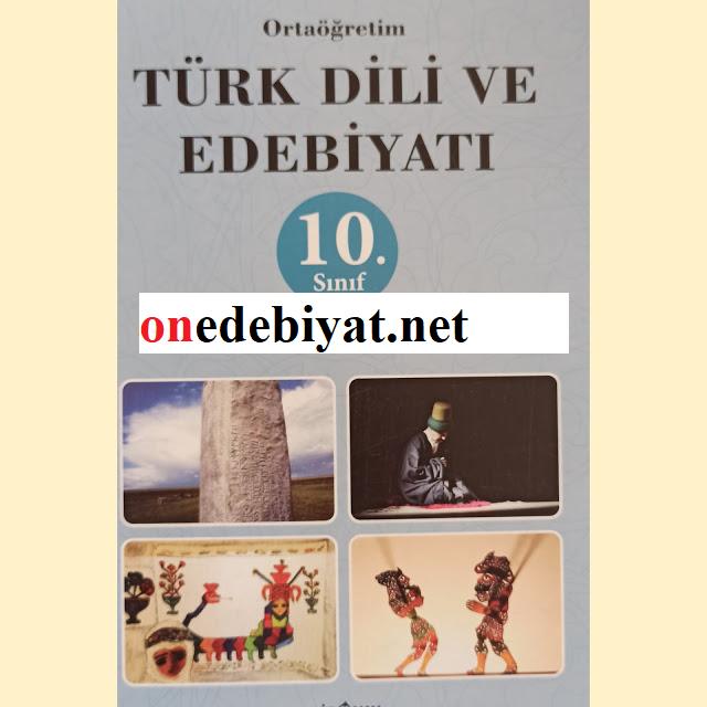10.Sınıf Türk  Dili ve Edebiyatı Biryay Yayınları Kitap Cevapları