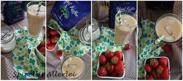 Kaffee mit Milch oder Mandelmilch