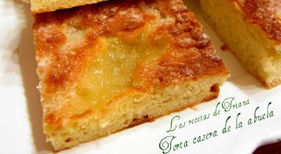 Las Recetas De Triana Torta Casera De La Abuela Cocina Casera De