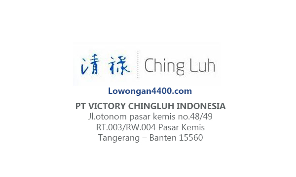 Lowongan PT Victory Chingluh Indonesia