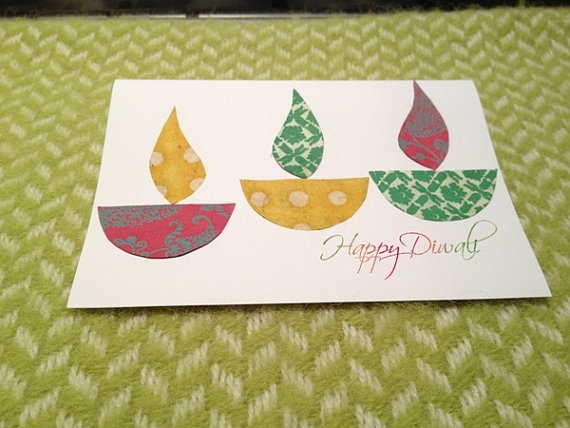 [Handmade] Happy Diwali Greeting Cards | Free eCards Images 2017