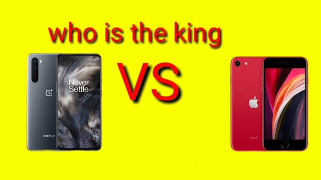 OnePlus Nord and iPhone SE which one is the king?