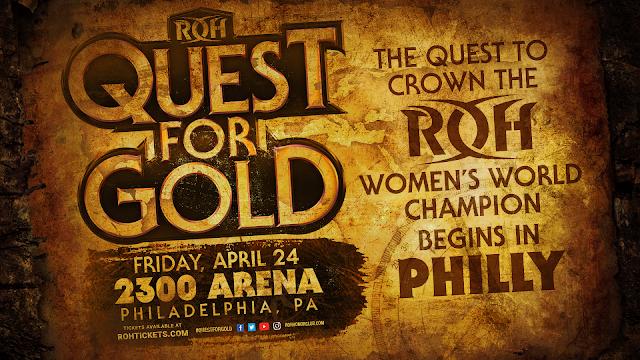 ROH altera o nome do seu título feminino