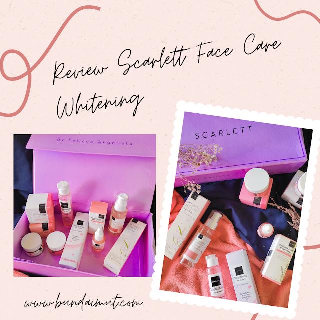 Review Scarlett Face care whitening