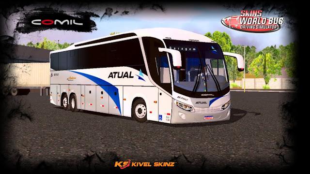 COMIL 1200 6X2 - VIAÇÃO ATUAL