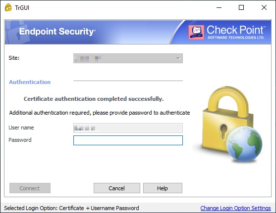 Checkpoint Endpoint Security VPN