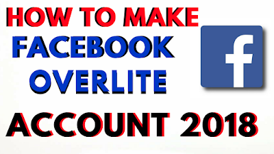 How-To-Make-Facebook-Overlite-Overload-Account-2018-2019