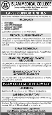 Jobs for Nephrologist, Radiologists & Sr Medical Officers