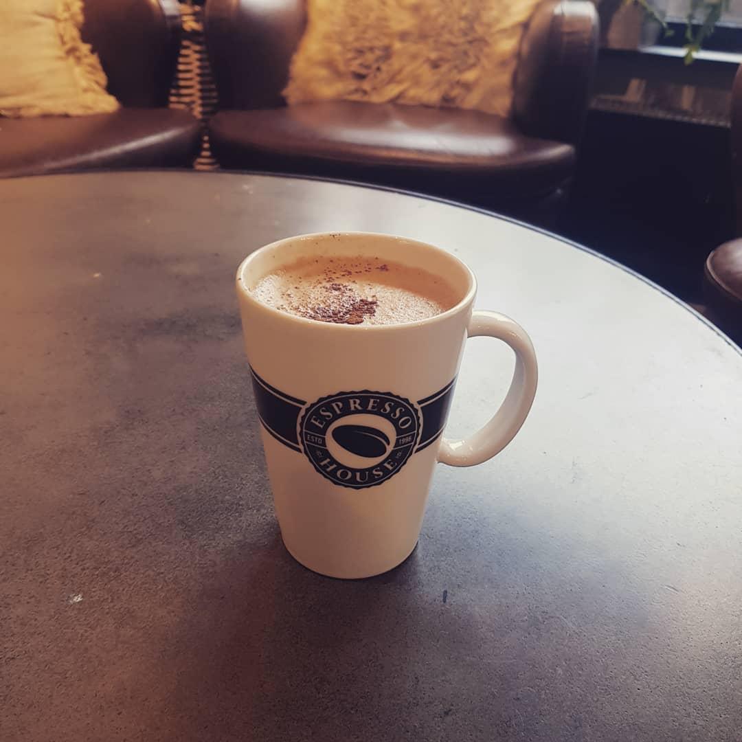 Любимите ми неща през февруари 2019 -  за пиене - кафе с мляко от овесени ядки