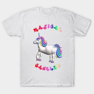 Fat Unicorn - Magical Cankles T-Shirt