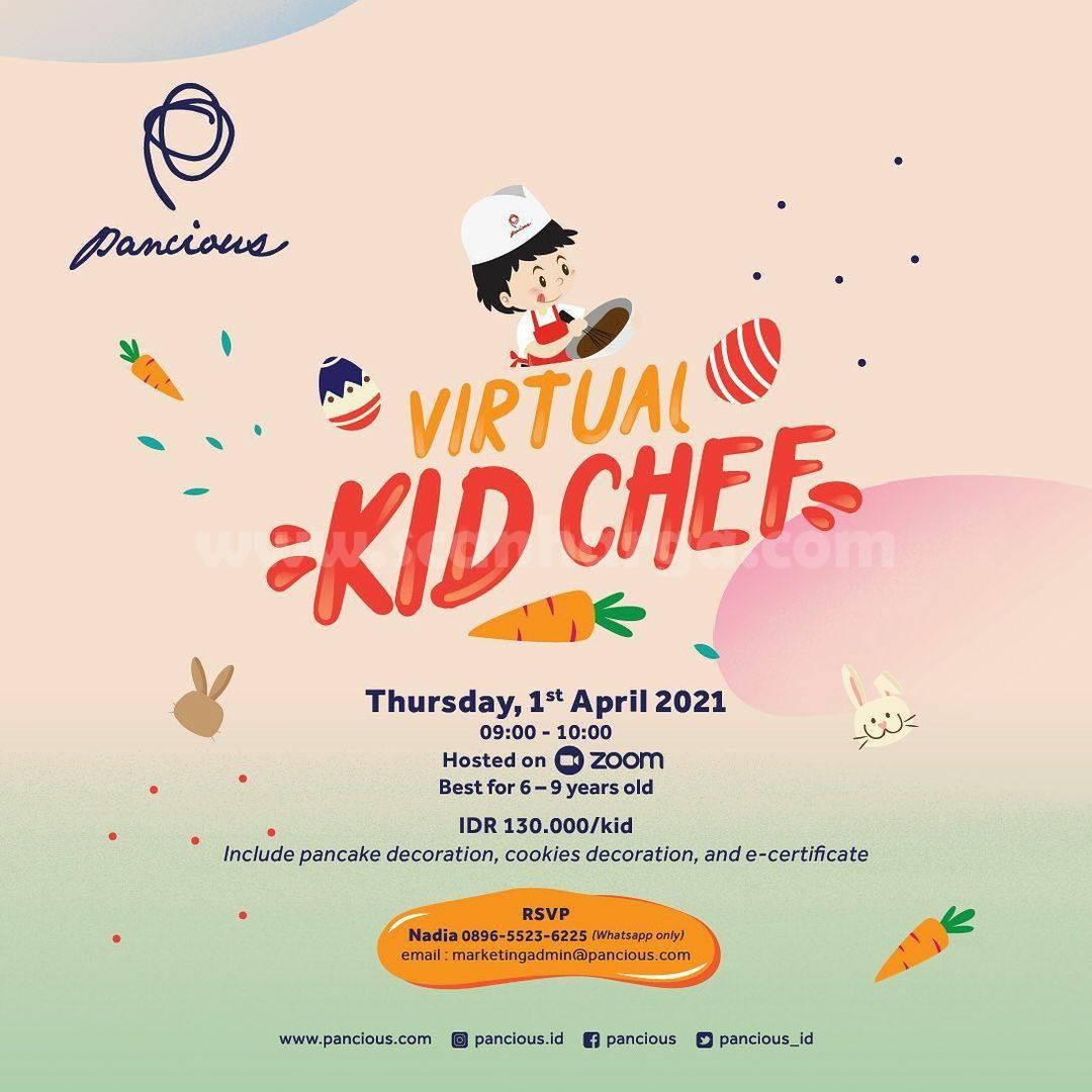 PANCIOUS Present Virtual Kid Chef!
