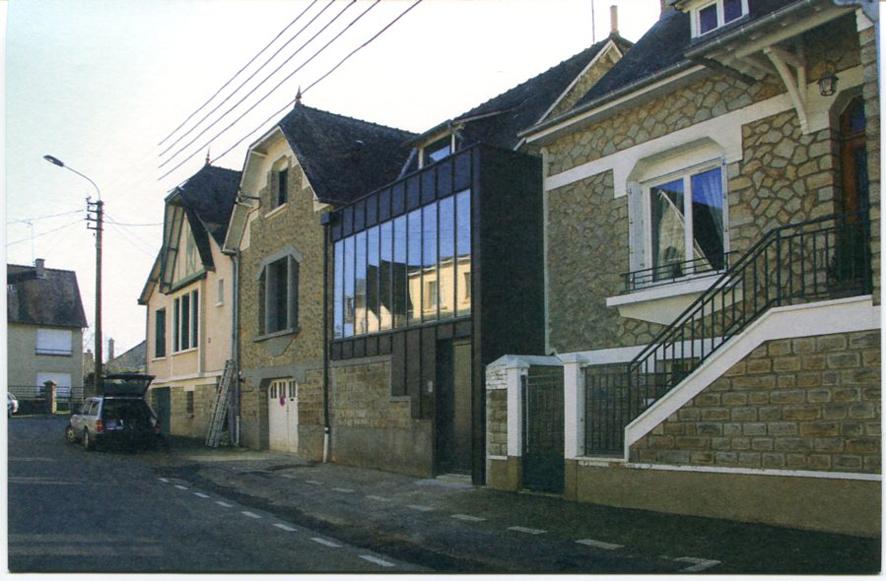 architectures de cartes postales 2 maisons d 39 architectes et d 39 architecture en bretagne. Black Bedroom Furniture Sets. Home Design Ideas
