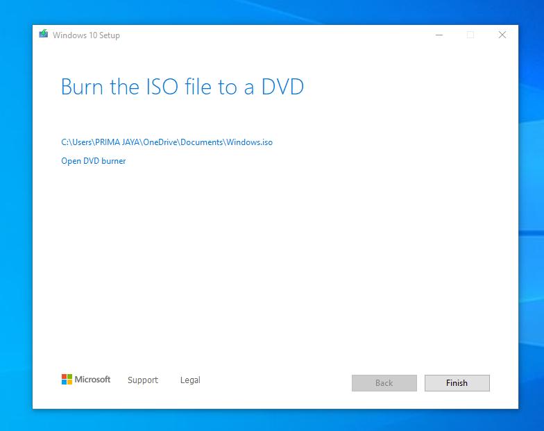 Cara Download Windows 10 ISO Original 21H1 Gratis